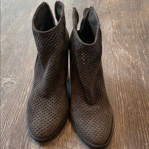 Steve Madden see through booties - worn once!